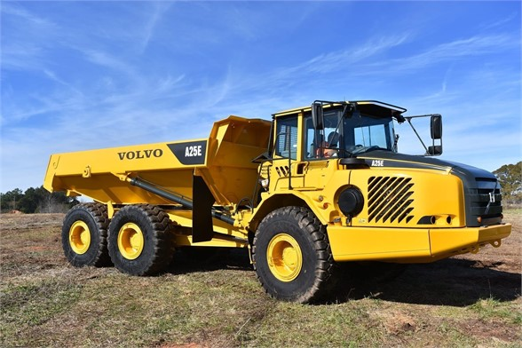 USED 2009 VOLVO A25E OFF HIGHWAY TRUCK EQUIPMENT #1250