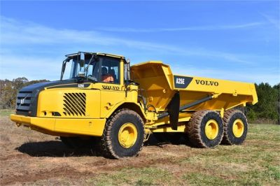 USED 2009 VOLVO A25E OFF HIGHWAY TRUCK EQUIPMENT #1250-10