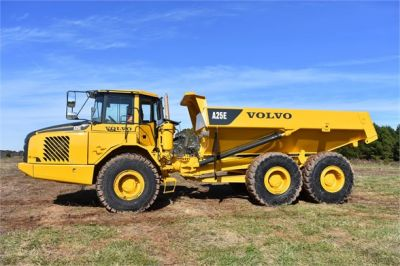 USED 2009 VOLVO A25E OFF HIGHWAY TRUCK EQUIPMENT #1250-11