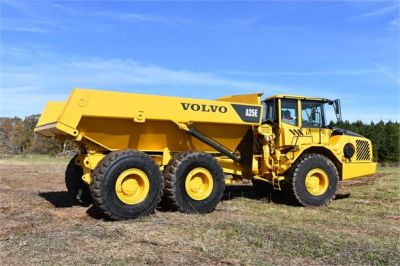 USED 2009 VOLVO A25E OFF HIGHWAY TRUCK EQUIPMENT #1250-4