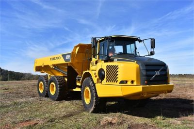 USED 2009 VOLVO A25E OFF HIGHWAY TRUCK EQUIPMENT #1250-5