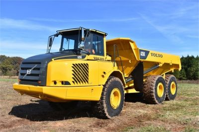 USED 2009 VOLVO A25E OFF HIGHWAY TRUCK EQUIPMENT #1250-7