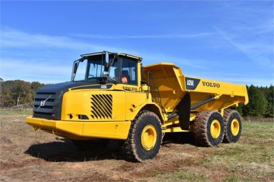 USED 2009 VOLVO A25E OFF HIGHWAY TRUCK EQUIPMENT #1250-8