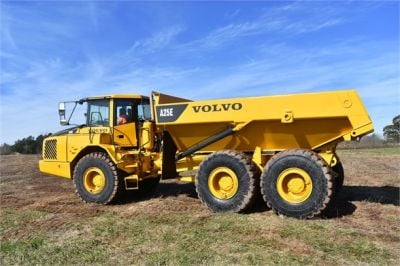 USED 2009 VOLVO A25E OFF HIGHWAY TRUCK EQUIPMENT #1250-9