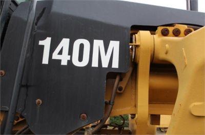 USED 2011 CATERPILLAR 140M MOTOR GRADER EQUIPMENT #1372-7