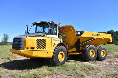 USED 2011 VOLVO A30E OFF HIGHWAY TRUCK EQUIPMENT #1382-11