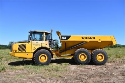 USED 2011 VOLVO A30E OFF HIGHWAY TRUCK EQUIPMENT #1382-16