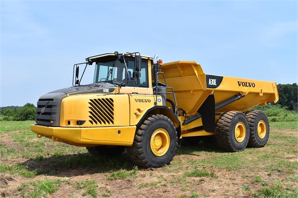 USED 2011 VOLVO A30E OFF HIGHWAY TRUCK EQUIPMENT #1383