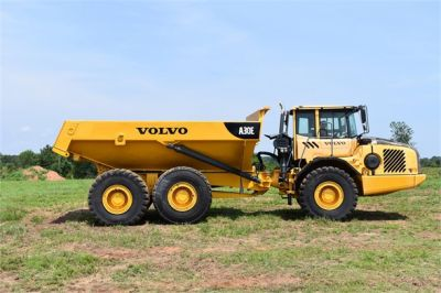 USED 2011 VOLVO A30E OFF HIGHWAY TRUCK EQUIPMENT #1383-16