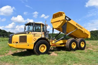USED 2011 VOLVO A30E OFF HIGHWAY TRUCK EQUIPMENT #1416-14