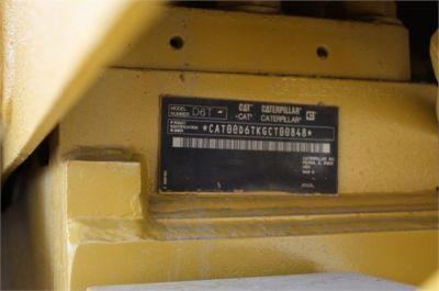 USED 2011 CATERPILLAR D6T XL DOZER EQUIPMENT #1420-10