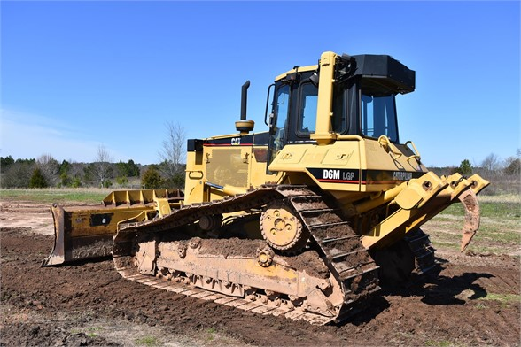 USED 2001 CATERPILLAR D6M LGP DOZER EQUIPMENT #1478