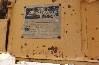 USED2011ALLIEDAW6GE6H1491071WINCH #1645-7