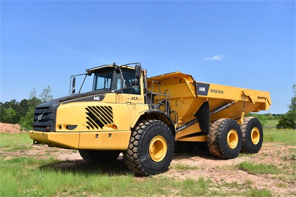 USED 2009 VOLVO A40E OFF HIGHWAY TRUCK EQUIPMENT #1691