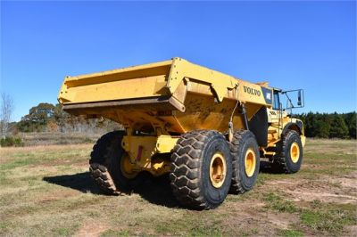 USED 2010 VOLVO A40E OFF HIGHWAY TRUCK EQUIPMENT #1715-21