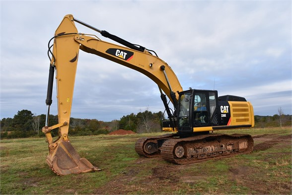 USED 2012 CATERPILLAR 336EL EXCAVATOR EQUIPMENT #1717