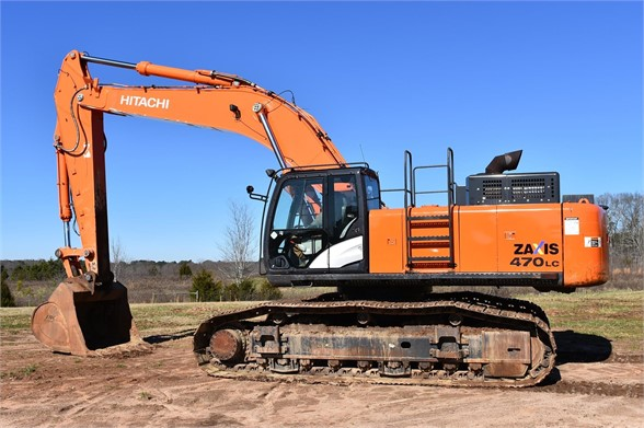USED 2015 HITACHI ZX470 LC-5B EXCAVATOR EQUIPMENT #1740