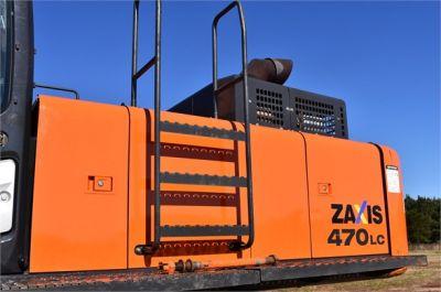 USED 2015 HITACHI ZX470 LC-5B EXCAVATOR EQUIPMENT #1740-16