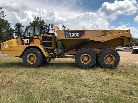 USED 2014 CATERPILLAR 730C OFF HIGHWAY TRUCK EQUIPMENT #1776