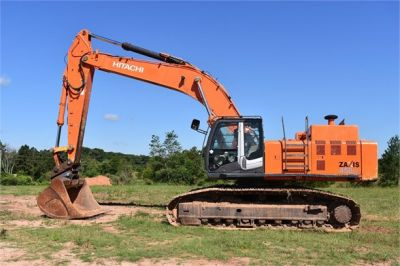 USED 2010 HITACHI ZX450 LC-3 EXCAVATOR EQUIPMENT #1811-1
