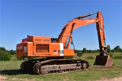 USED 2010 HITACHI ZX450 LC-3 EXCAVATOR EQUIPMENT #1811-12