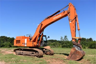 USED 2010 HITACHI ZX450 LC-3 EXCAVATOR EQUIPMENT #1811-16