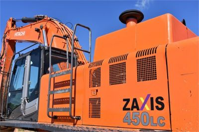 USED 2010 HITACHI ZX450 LC-3 EXCAVATOR EQUIPMENT #1811-19