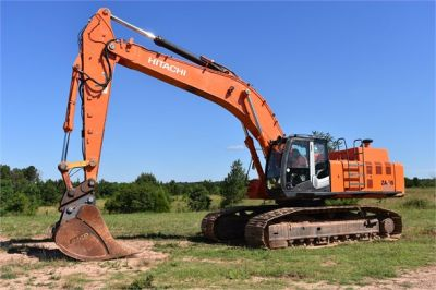 USED 2010 HITACHI ZX450 LC-3 EXCAVATOR EQUIPMENT #1811-4