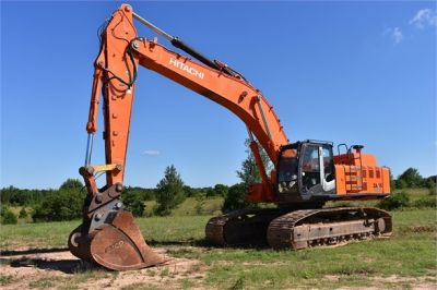 USED 2010 HITACHI ZX450 LC-3 EXCAVATOR EQUIPMENT #1811-5
