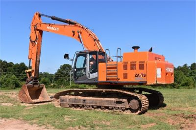 USED 2010 HITACHI ZX450 LC-3 EXCAVATOR EQUIPMENT #1811-6