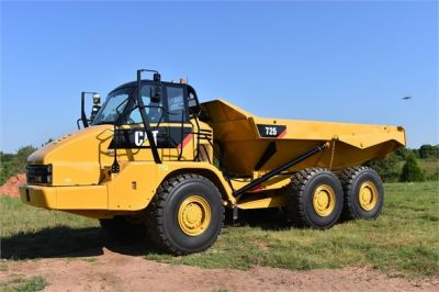 USED 2012 CATERPILLAR 725 OFF HIGHWAY TRUCK EQUIPMENT #1815-1