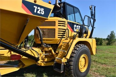 USED 2012 CATERPILLAR 725 OFF HIGHWAY TRUCK EQUIPMENT #1815-17