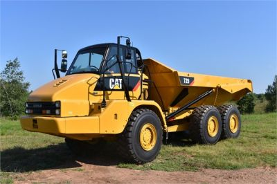 USED 2012 CATERPILLAR 725 OFF HIGHWAY TRUCK EQUIPMENT #1815-2