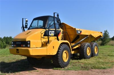 USED 2012 CATERPILLAR 725 OFF HIGHWAY TRUCK EQUIPMENT #1815-3