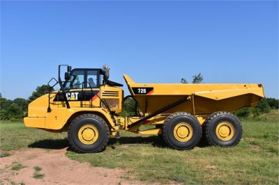 USED 2012 CATERPILLAR 725 OFF HIGHWAY TRUCK EQUIPMENT #1815-4