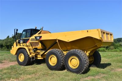 USED 2012 CATERPILLAR 725 OFF HIGHWAY TRUCK EQUIPMENT #1815-6