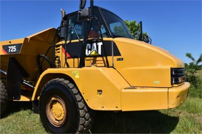 USED 2013 CATERPILLAR 725 OFF HIGHWAY TRUCK EQUIPMENT #1835-15