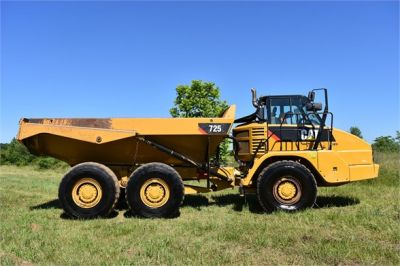 USED 2013 CATERPILLAR 725 OFF HIGHWAY TRUCK EQUIPMENT #1835-3