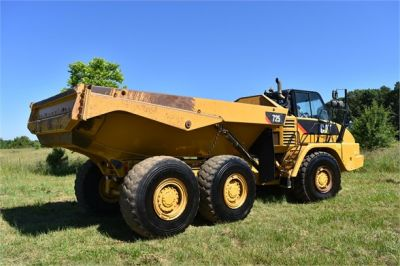 USED 2013 CATERPILLAR 725 OFF HIGHWAY TRUCK EQUIPMENT #1835-4