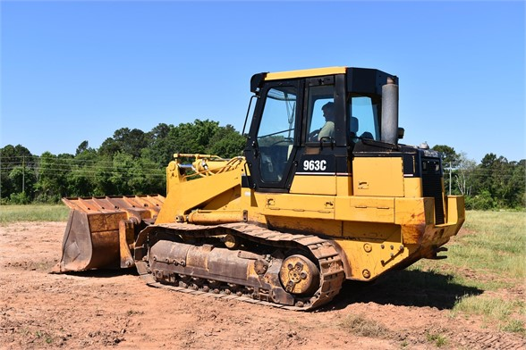 USED 2002 CATERPILLAR 963C LGP CRAWLER LOADER EQUIPMENT #1842