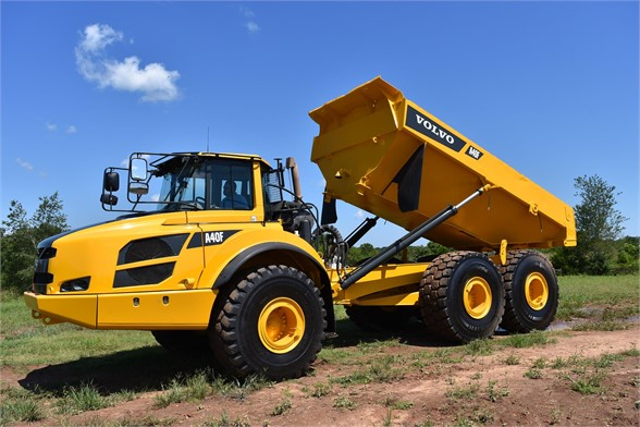 USED 2013 VOLVO A40F OFF HIGHWAY TRUCK EQUIPMENT #1858