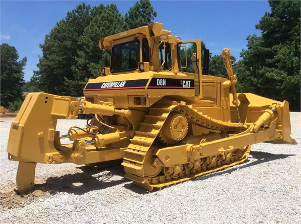 USED 1993 CATERPILLAR D8N DOZER EQUIPMENT #1865