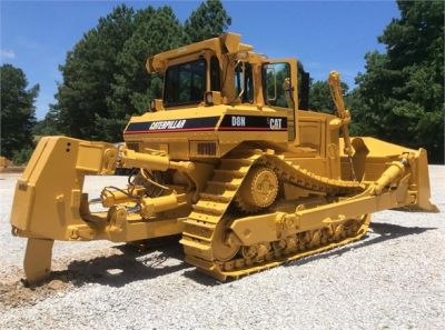 USED 1993 CATERPILLAR D8N DOZER EQUIPMENT #1865-1