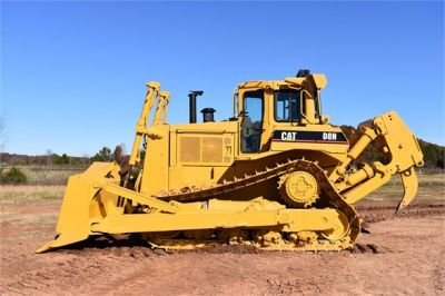 USED 1993 CATERPILLAR D8N DOZER EQUIPMENT #1865-10