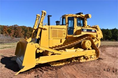 USED 1993 CATERPILLAR D8N DOZER EQUIPMENT #1865-11
