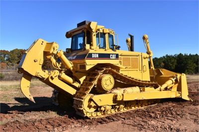 USED 1993 CATERPILLAR D8N DOZER EQUIPMENT #1865-12