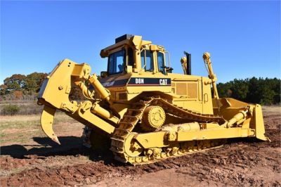 USED 1993 CATERPILLAR D8N DOZER EQUIPMENT #1865-13