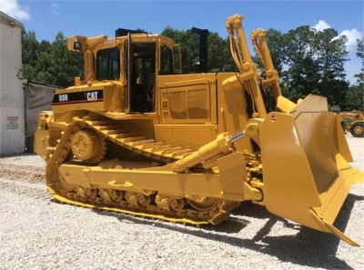 USED 1993 CATERPILLAR D8N DOZER EQUIPMENT #1865-2