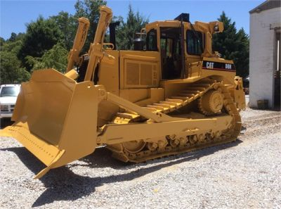 USED 1993 CATERPILLAR D8N DOZER EQUIPMENT #1865-6
