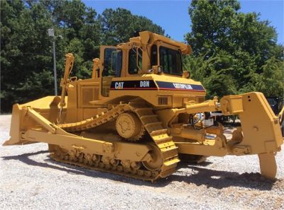 USED 1993 CATERPILLAR D8N DOZER EQUIPMENT #1865-7